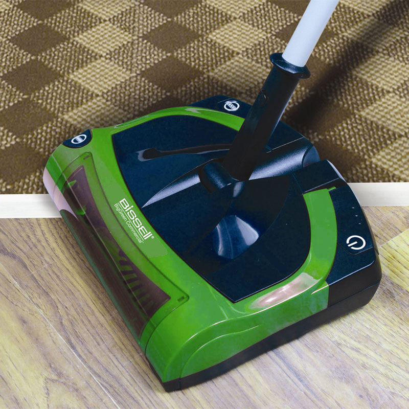 Bissell Bg9100nm Cord Free Electric Sweeper Unoclean