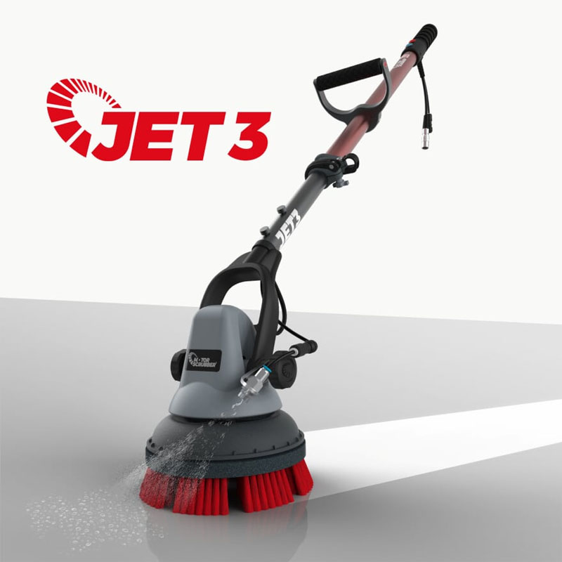 How To Clean Tile Grout >> Motorscrubber JET Handheld Scrubber - UnoClean