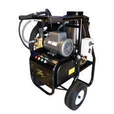 Cam Spray 1000SHDE Oil Fired Hot Water Pressure Washer - 1000 PSI