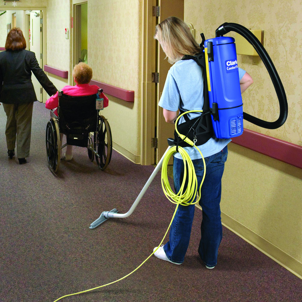 Clarke 10 Quart HEPA Back Pack Vacuum Cleaner