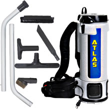 Atlas 6 Quart Backpack Vacuum