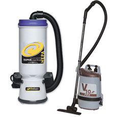 Back Pack Vacuums - Green Seal