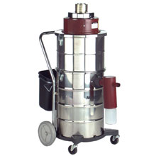 MRS-3 Mercury Recovery Dry Critical Filter Tank Vacuum - 15 Gallon