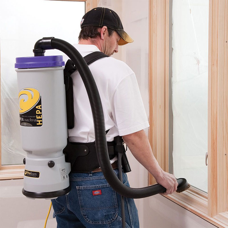 Proteam Hepa Backpack Vacuum Cleaner Unoclean