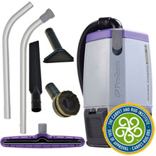Super Coach Pro 6 Backpack Vacuum w/ Xover Tool Kit B