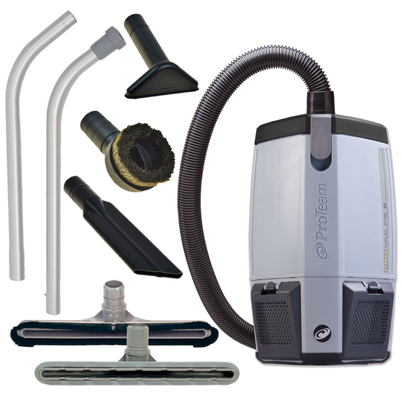 Proteam Food Service Backpack Vacuum Cleaner Unoclean