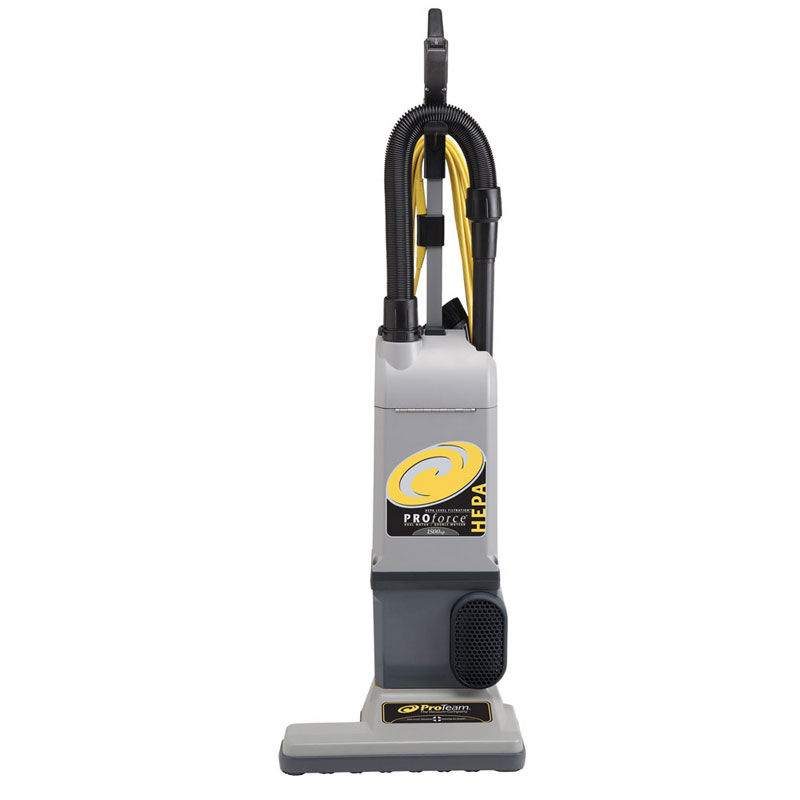 Pro-Team 107252 ProForce 1500XP Upright Vacuum - HEPA