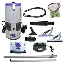 6 Qt. GoFree Flex Pro Cordless Vacuum w/ ProBlade Hard Surface Tool Kit