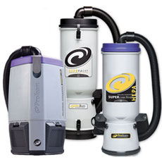 Backpack Vacuums - ProTeam