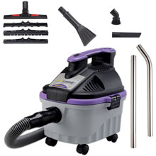 ProTeam ProGuard 4 Portable Wet/Dry Vacuum w/ Tool Kit