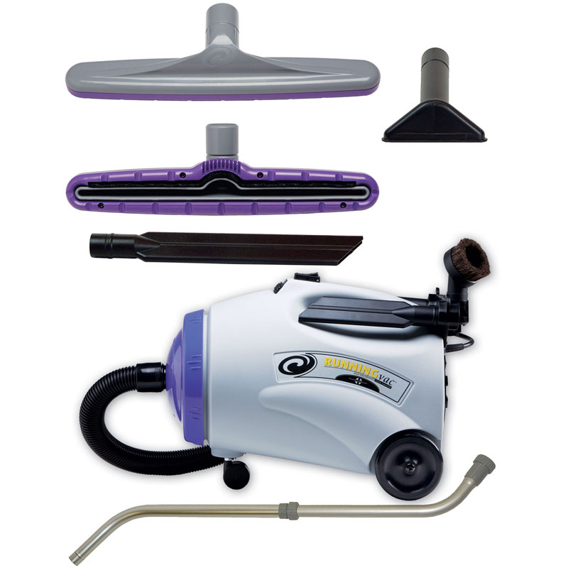 Proteam Canister Vacuum Cleaner Runningvac Unoclean