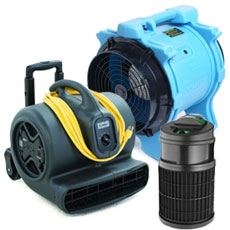 Air Movers & Air Scrubbers