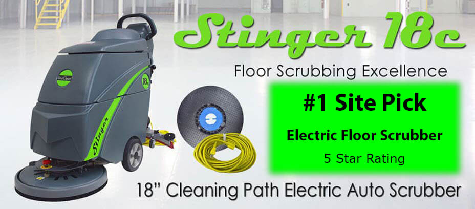 Stinger Automatic Floor Scrubber