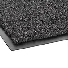 "Rely-On Olefin Indoor Wiper Mat, Charcoal - 36"" x 120"" CWNGS0310CH"