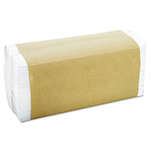 C-Fold Towels, 1-Ply, White, 12 1/4 x 10 GEN1510