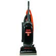 Commercial WindTunnel Bag-Style Upright Vacuum, 17 lb, Black/Safety Orange HOO1703