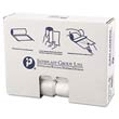 High-Density Can Liner, 30 x 37, 30-Gallon, 13 Micron, Clear, 25/Roll IBSS303713N