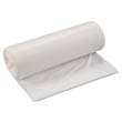 Low-Density Can Liner, 33 x 39, 33-Gallon, .80 Mil, White, 25/Roll IBSSL3339XHW