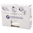 High-Density Can Liner, 30 x 36, 30-Gallon, 13 Micron Equivalent, Clear, 25/Roll IBSVALH3037N13