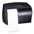 IN-SIGHT Coreless Double Roll Tissue Dispenser - Smoke/Gray KCC09604