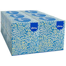KLEENEX White Facial Tissue, 2-Ply, POP-UP Box KCC21271CT
