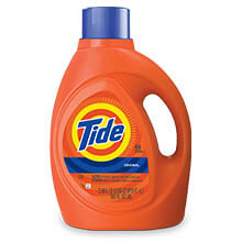 Tide Laundry Detergent, Original Scent - (4) 3.1 qt. Bottles PGC13882CT