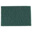 "Medium-Duty Scouring Pad - Green - 6"" x 9"" RPPS960"