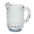 Rubbermaid [3338] Bouncer Plastic Pitcher, 60-oz, Clear RCP3338CLE