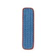 "Microfiber Wet Mopping Pad, 18"", Red RCPQ410RED"