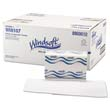 Embossed Singlefold Paper Towels, One-Ply, 9 9/20 x 9, White, 250/Pack WIN107